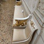 Anche i mobili sono originali d'epoca