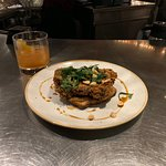 The fried chicken over dutch boy was a great twist, almost like an elevated chicken and waffles.