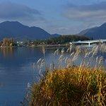 ภาพถ่ายของ Lake Kawaguchiko