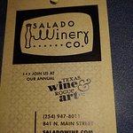 Photo de Salado Winery & Salado Wine Seller