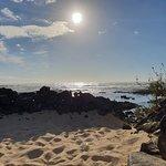 薩爾瓦多科蒂略海灘與瀉湖照片