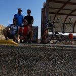 IO, Sandra, Udi ( guida sul pulmino ) e Elad ( accompagnatore in bicicletta )