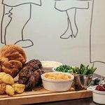 Sunday Roast sharing board.
