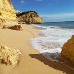 Praia do Vale de Centeanes Foto
