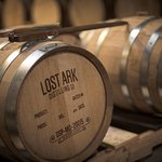 Lost Ark Distilling whiskey barrels