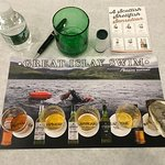 One of the highlights of going to the New Hampshire Highland Games and Festival is the Laphroaig scotch tasting with Simon Brooking