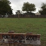Foto van Fort Martin Scott