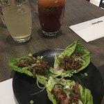 Duck lettuce wraps