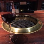 Charcoal cuisine Kobe beef Ikuta Photo