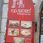 Fotografie: Restaurace Pod Radnici