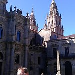 圣地亚哥-德孔波斯特拉-老城区照片