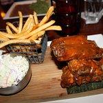 SC-style BBQ ribs