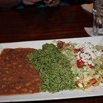 Tex-Mex shredded chicken enchiladas