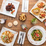 An array of popular dishes to share