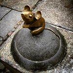 ภาพถ่ายของ Sculpture Golden Mouse