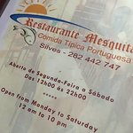 Foto van Restaurante Mesquita 2