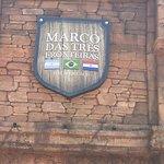 Marco das Três Fronteiras Foto