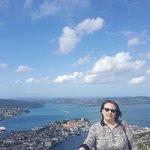 Foto di Mount Floyen and the Funicular (Floibanen)