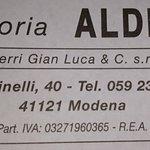 Photo of Trattoria Aldina