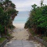 Aharen Beach resmi
