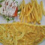 omelette à 18 dirham