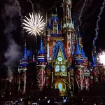 Happily Ever After Fireworks Photo