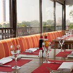 Enjoy unparalleled views of Cairo and the Nile at Pane Vino