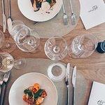 L'oeuf parfait ou ses legumes marinés, au menu lors de l'ouverture, la 1ère quinzaine de septemb