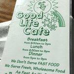 Good Life Cafe Foto