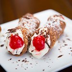 Cannoli Siciliano at Rossini. A very special treat.