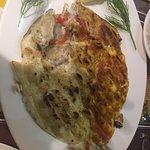 Dubai fish hut restaurant Foto