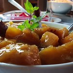 Abacaxi caramelizado. Uma delícia!!!