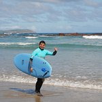 Surfing with Jono