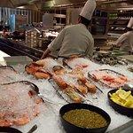 Oysters, Crayfish, Big Prawns