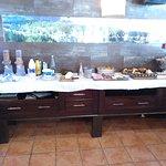 Buffete libre Desayuno.
