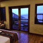 View of the Ngorongoro Crater from my room on the rim