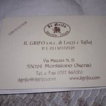 Bilde fra Il Grifo Ristorante Pizzeria