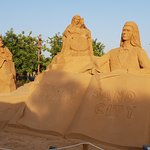 Bild från FIESA - International Sand Sculpture Festival