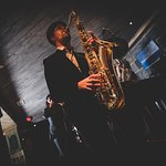 """""""Brass Gumbo"""" playing live in Elgen. Join us for great parties and dancing."""