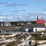 Bild från Peggy's Cove Lighthouse