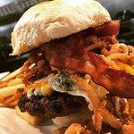 A monster of a burger!