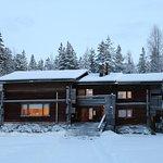 Särestöniemi's Studio during winter