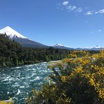 Osorno Vocano and the Petrohue River