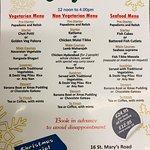 Christmas menu best menu in Market Harborough