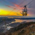 Bilde fra Mount Ulriken