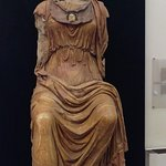 Statue of Minerva at entrance to  the Museo Nazionale Romano - Palazzo Massimo alle Terme
