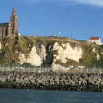 Approaching Dieppe.
