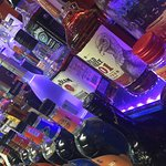 Our fully-stocked bar.