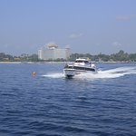 Boat from Sanur