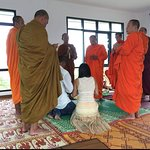 Moon and lucky and their detox centre have been blessed by local monks. this is the real deal.
